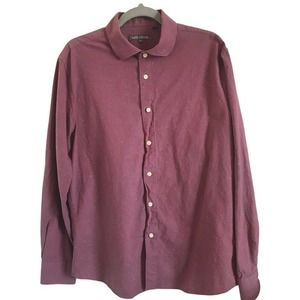 Slate & Stone Speckled Long Sleeve Button Up Shirt
